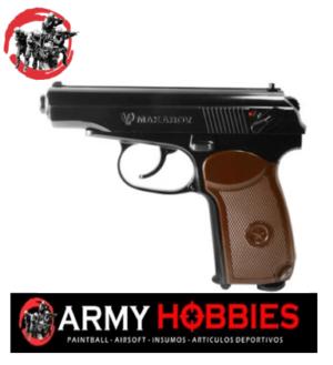 pistola majarov